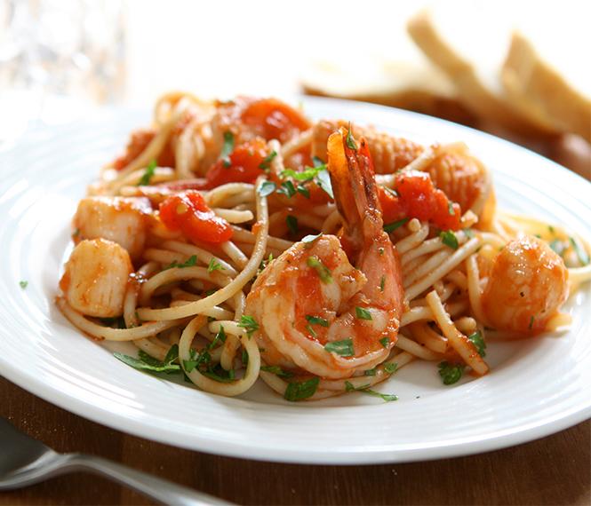 Seafood Mix Pasta
