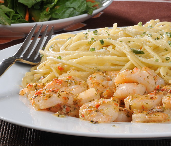 Delicious Shrimp Scampi
