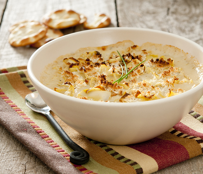 Baked Crab and Shrimp Artichoke Dip