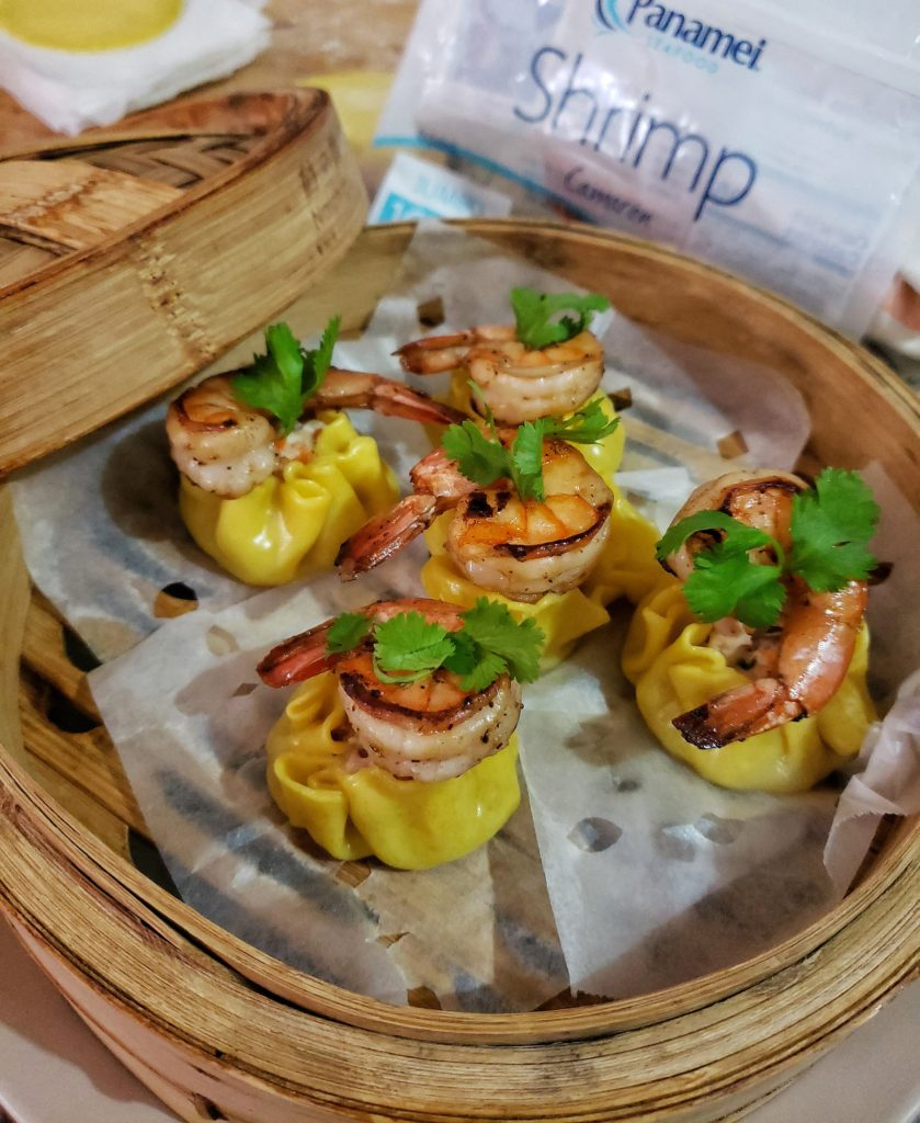 Shrimp, Chicken and Bacon Dim Sum