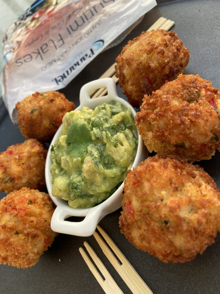 Crab Cakes with Chunky Guac