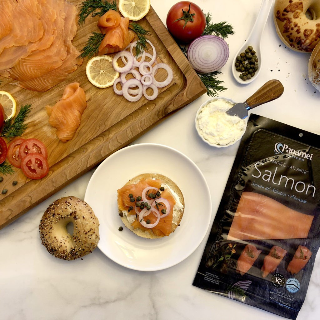Panamei Smoked Salmon with Bagels