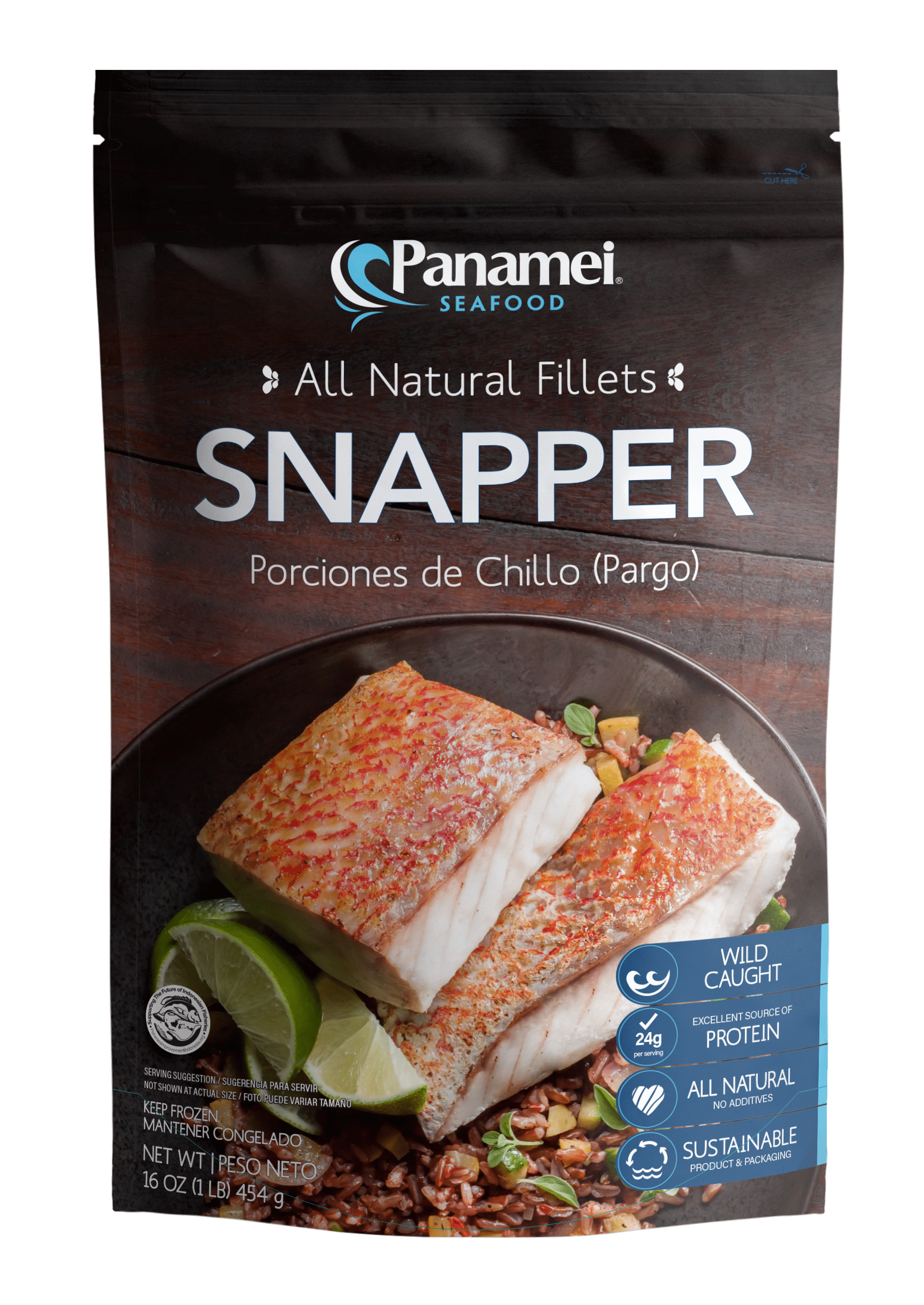 Snapper Portions